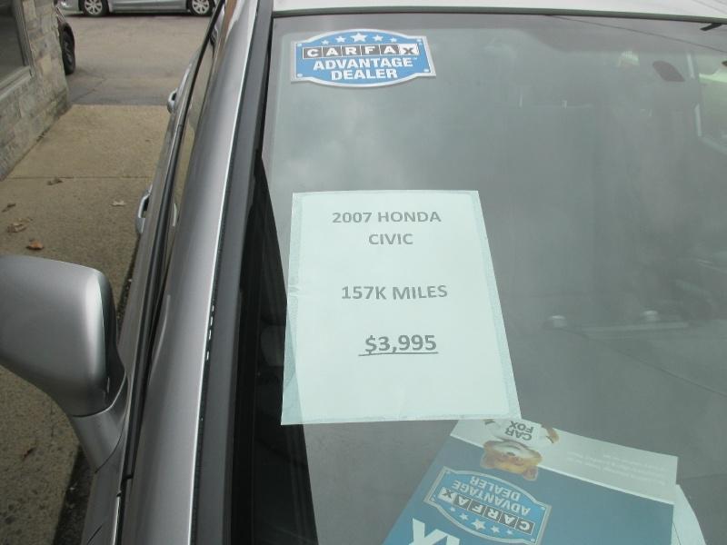 Honda Civic Sedan 2007 price $3,995