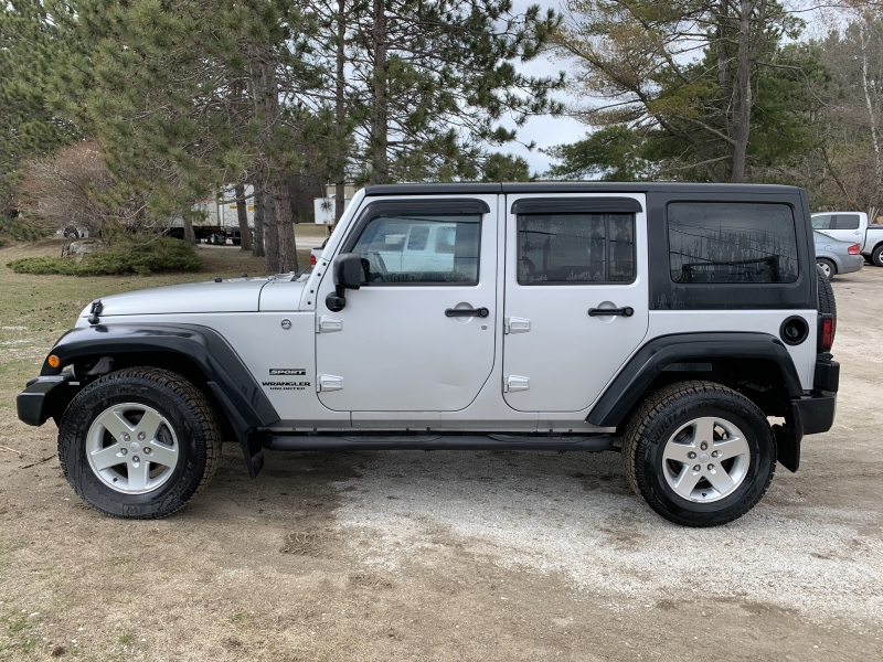 Jeep Wrangler Unlimited 2012 price $18,985