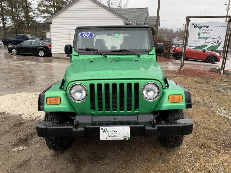 Jeep Wrangler 2004 price $5,985