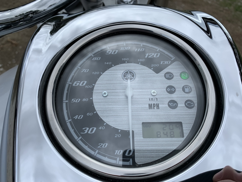 Yamaha V Star 2010 price $4,995