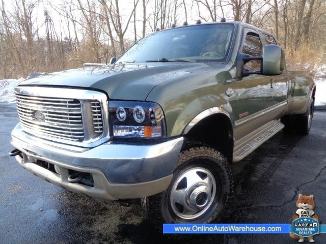 2003 *ford f350* *powerstroke diesel* 4x4 crew cab dually king ranch
