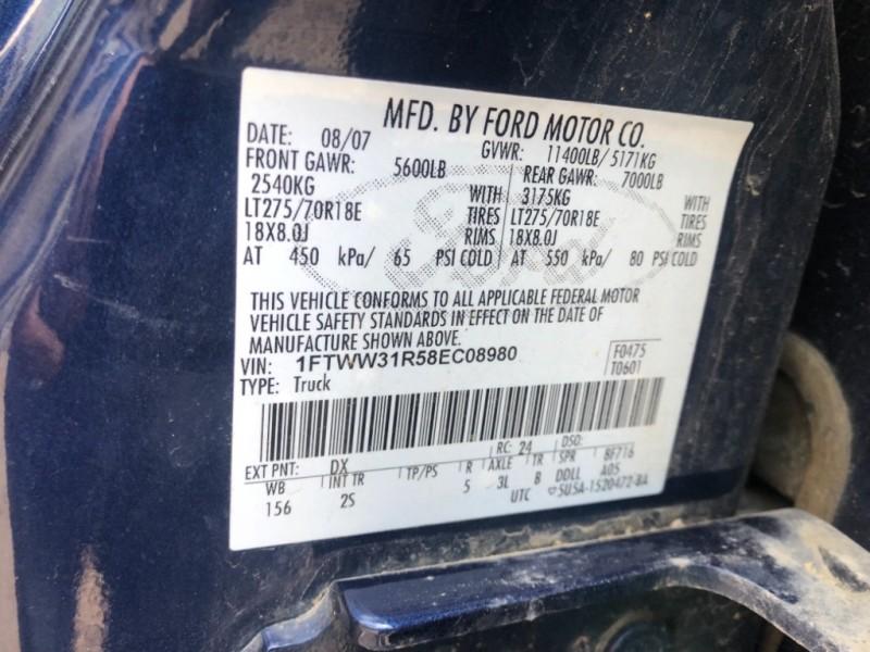 Ford Super Duty F-350 SRW 2008 price SOLD