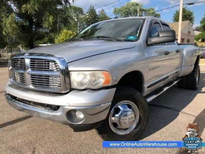 2005 *Dodge Ram 3500* *DIESEL 5.9 CUMMINS* 4X4 QUAD CAB DUALLY LONG BED 172K WE FINANCE