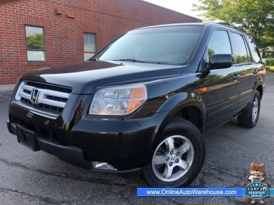 2008 *Honda Pilot* EX-L 4WD NAV LEATHER 3RD ROW LOADED ONE OWNER WE FINANCE
