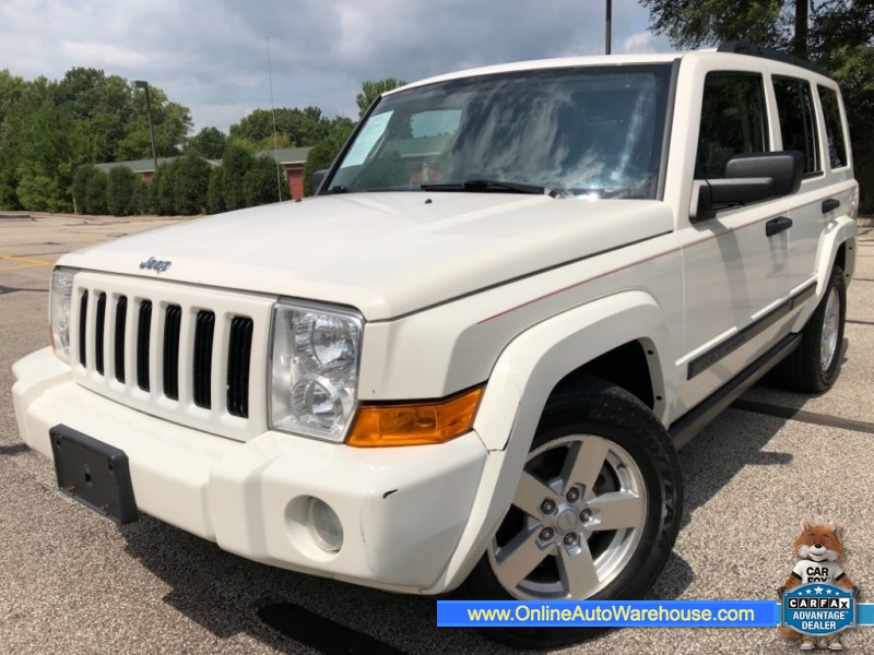 Jeep 3Rd Row >> 2006 Jeep Commander 4wd Loaded Leather Sunroof 3rd Row