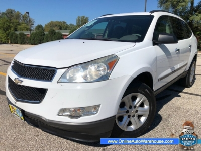 2009 *Chevrolet Traverse* LS AWD AUTO ONLY 102k 3rd ROW WE FINANCE