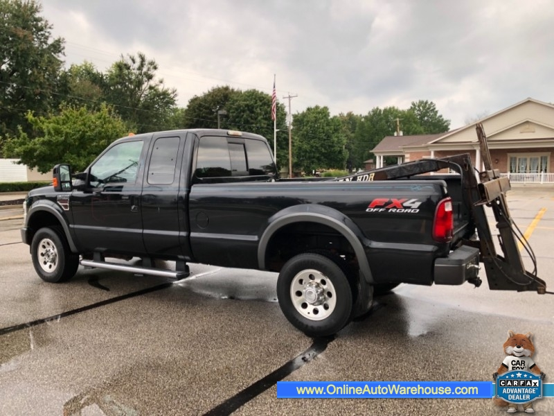 2008 Ford Super Duty F 250 4X4 6 4 DIESEL EXT CAB MINUTE MAN TOW TRUCK SLIDE
