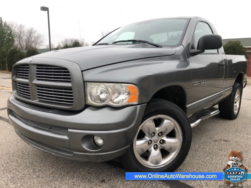 Dodge Ram Truck Bed For Sale >> 2005 Dodge Ram 1500 4x4 St 6 Speed Manual Reg Cab Short Bed