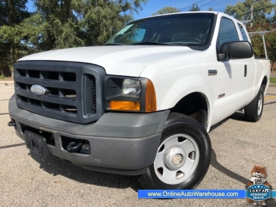 2006 *Ford F250* *DIESEL POWERSTROKE* 4X4 SUPERCAB 155K SHORT BED ONE OWNER WE FINANCE