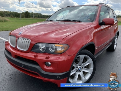 2005 *BMW X5* 4.8is RARE AWD LOADED NAV PANO ROOF IMOLA RED SPORT PACKAGE WE FINANCE
