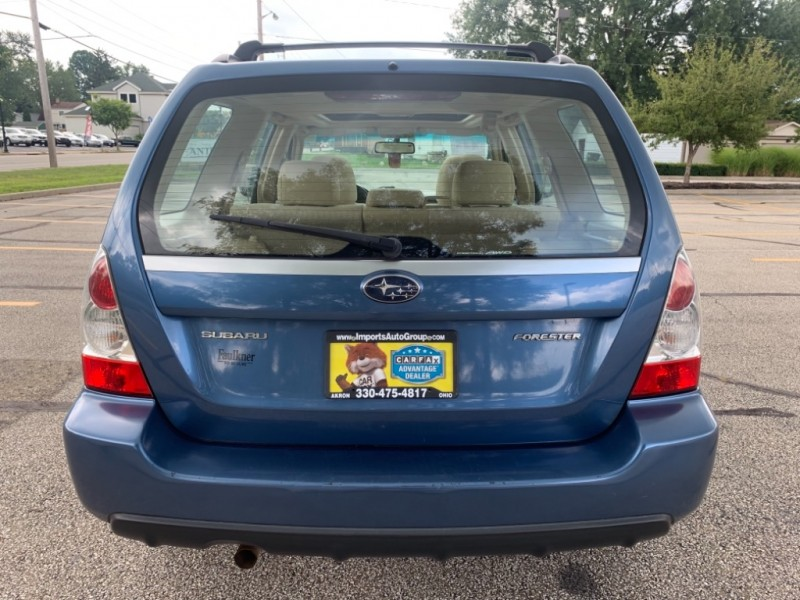 Subaru Forester 2007 price SOLD
