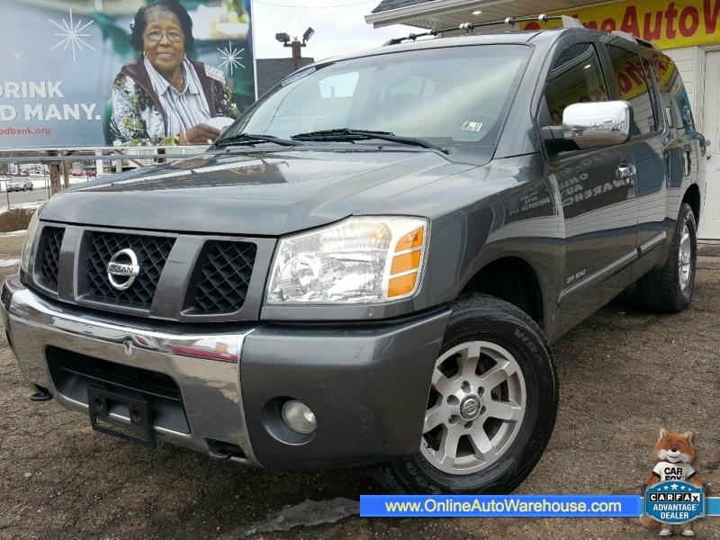 2004 Nissan Armada Pathfinder SE Off-Road 4WD LEATHER SUNROOF DVD