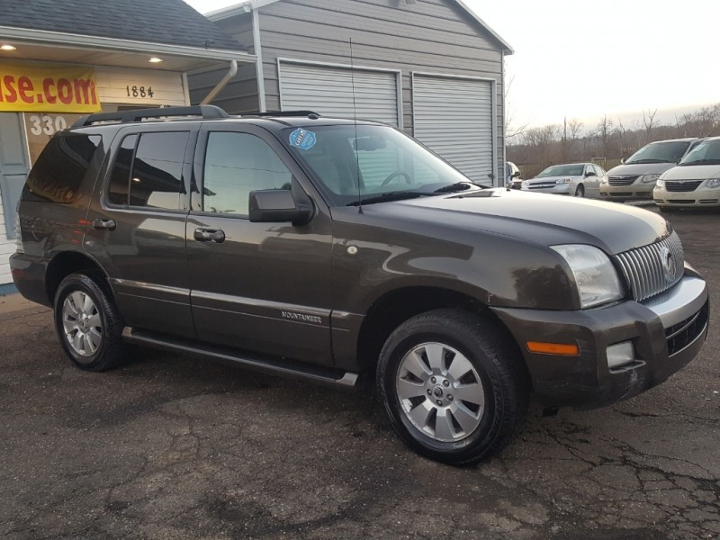 Mercury Mountaineer 2008 price SOLD