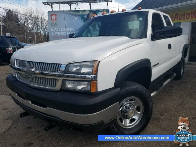 2006 Chevrolet Silverado 2500 Hd 4x4 Ext Cab Ls Short Bed We F