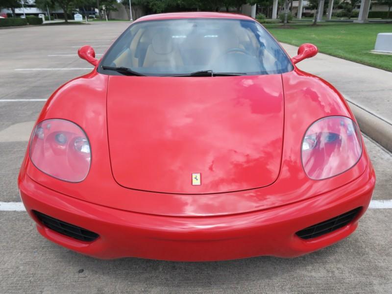 Ferrari 360 2000 price $69,999