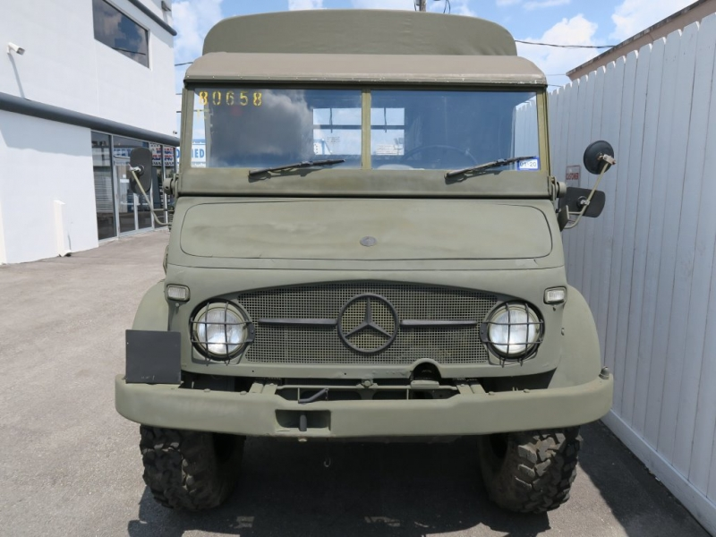 Mercedes-Benz Unimog 1963 price $16,299