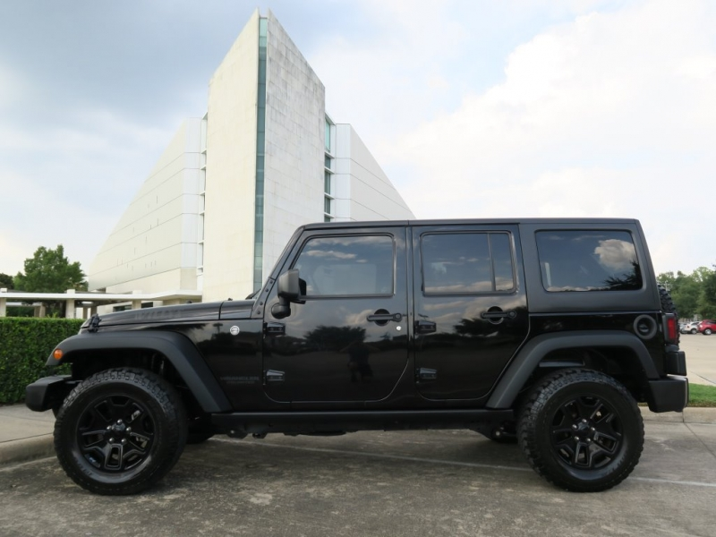 Jeep Wrangler Unlimited 2016 price $31,699
