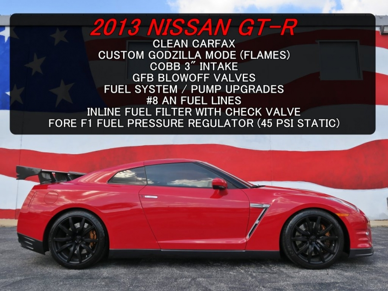 Nissan GT-R 2013 price $68,599