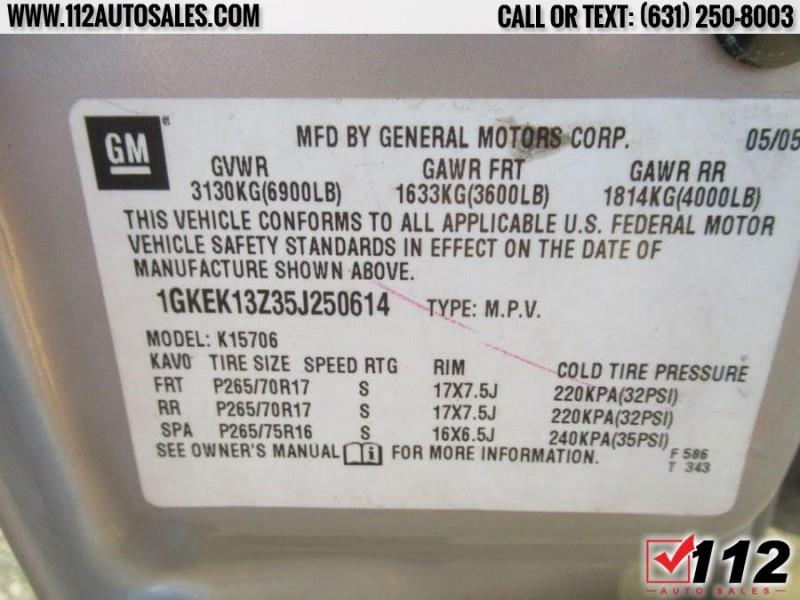 GMC Yukon 2005 price Call for Pricing.