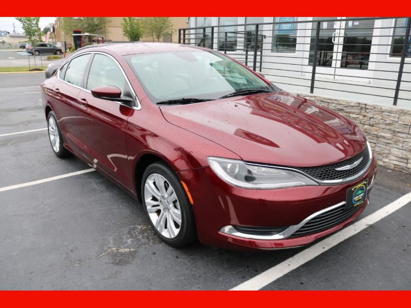 Chrysler 200 2015 price $14,990