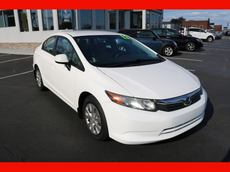 Honda Civic Sdn 2012 price $8,990