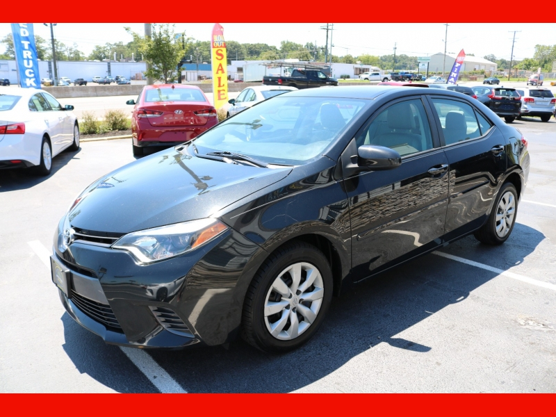 Toyota Corolla 2015 price $11,990