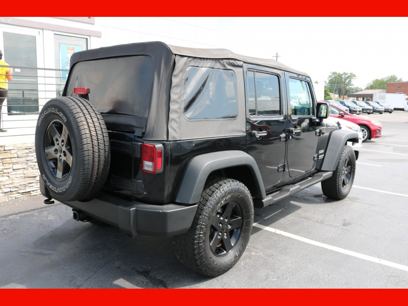 Jeep Wrangler Unlimited 2016 price $24,990