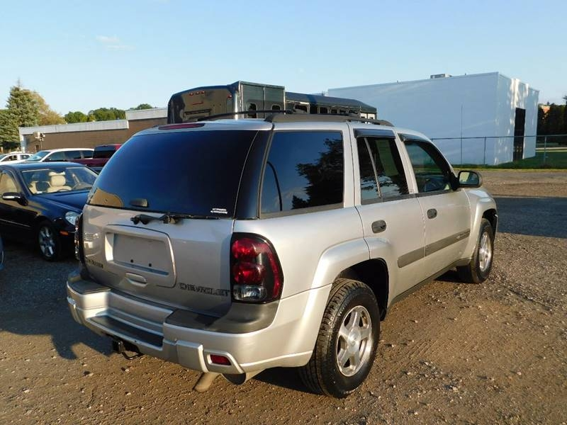 Chevrolet TrailBlazer 2004 price $2,700