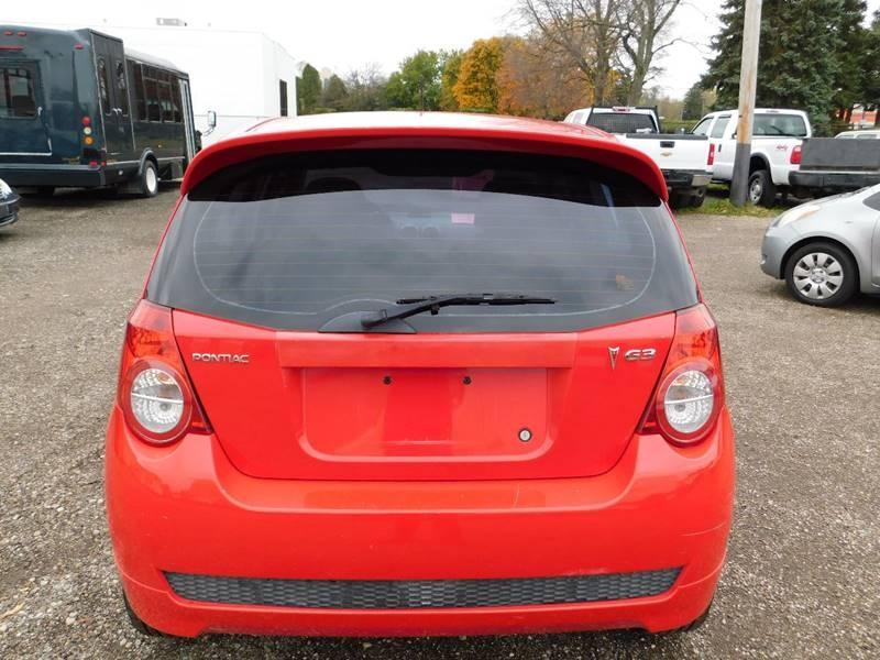 Pontiac G3 2009 price $3,300