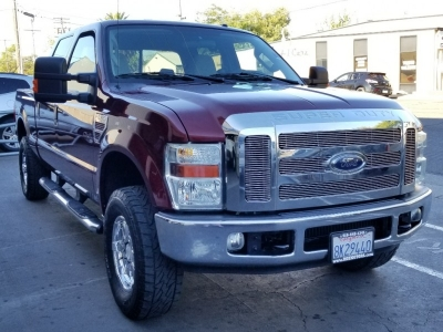 2008 Ford Super Duty F-250 4X4 Crew Cab  XLT SHORT BED
