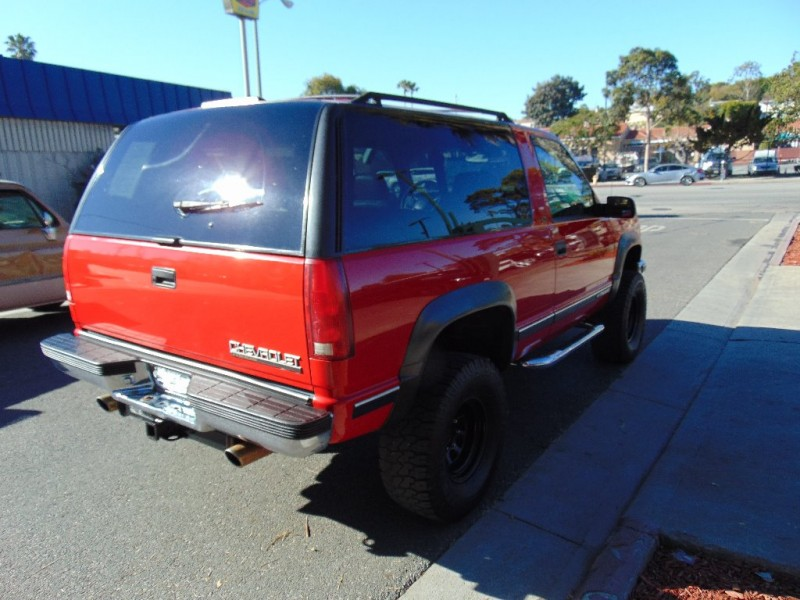 Chevrolet Tahoe 1998 price $7,995