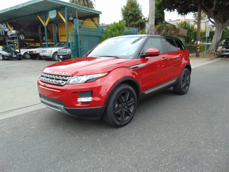 Land Rover Range Rover Evoque 2014 price $24,995