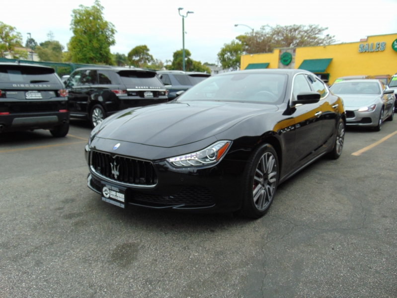 Maserati Ghibli 2017 price $33,995