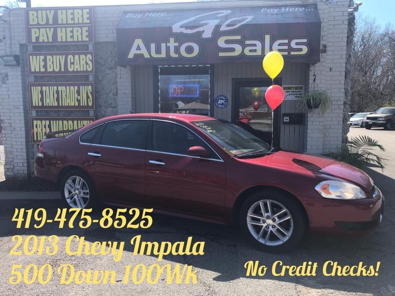 Chevrolet Impala 2013 price $10,900