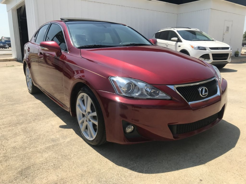 Lexus IS 250 2012 price $13,995 Cash