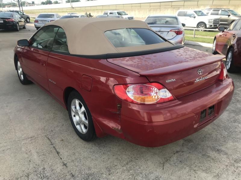 Toyota Camry Solara 2002 price $1,200 Cash