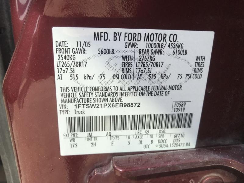Ford Super Duty F-250 2006 price $11,995 Cash
