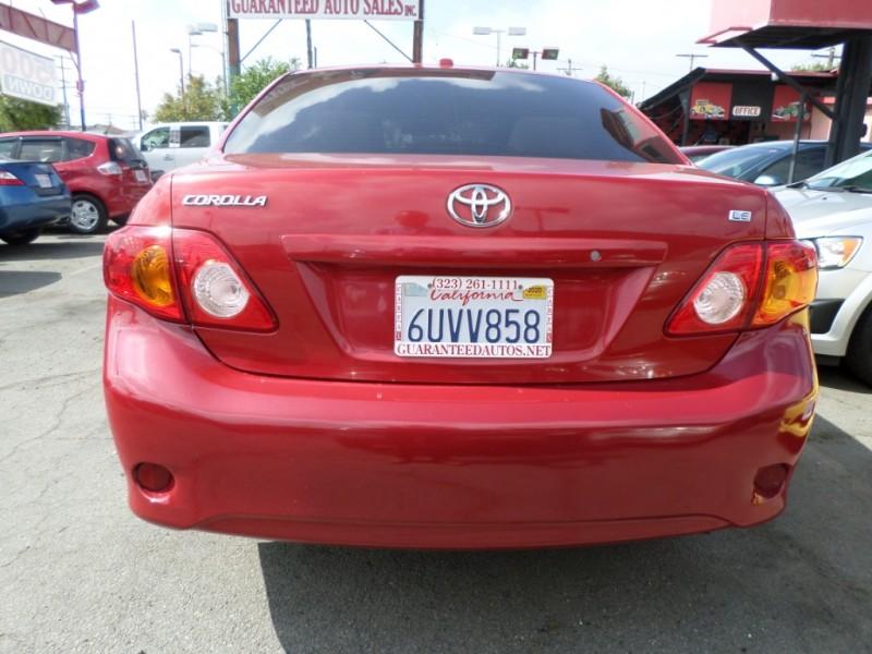 Toyota Corolla 2010 price $7,450