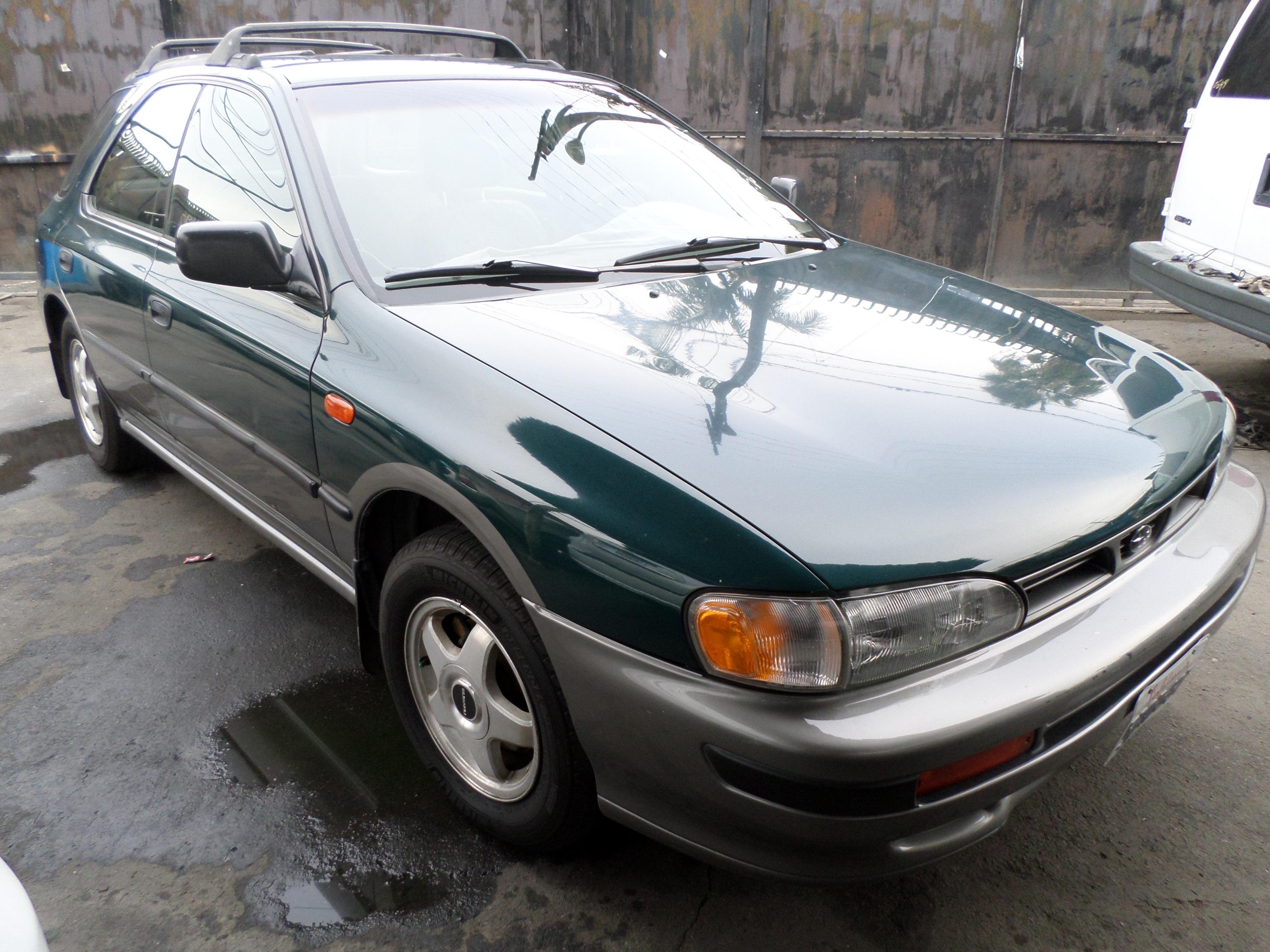 1996 Subaru Impreza Wagon 5dr Wgn Outback Manual w/ES Equip