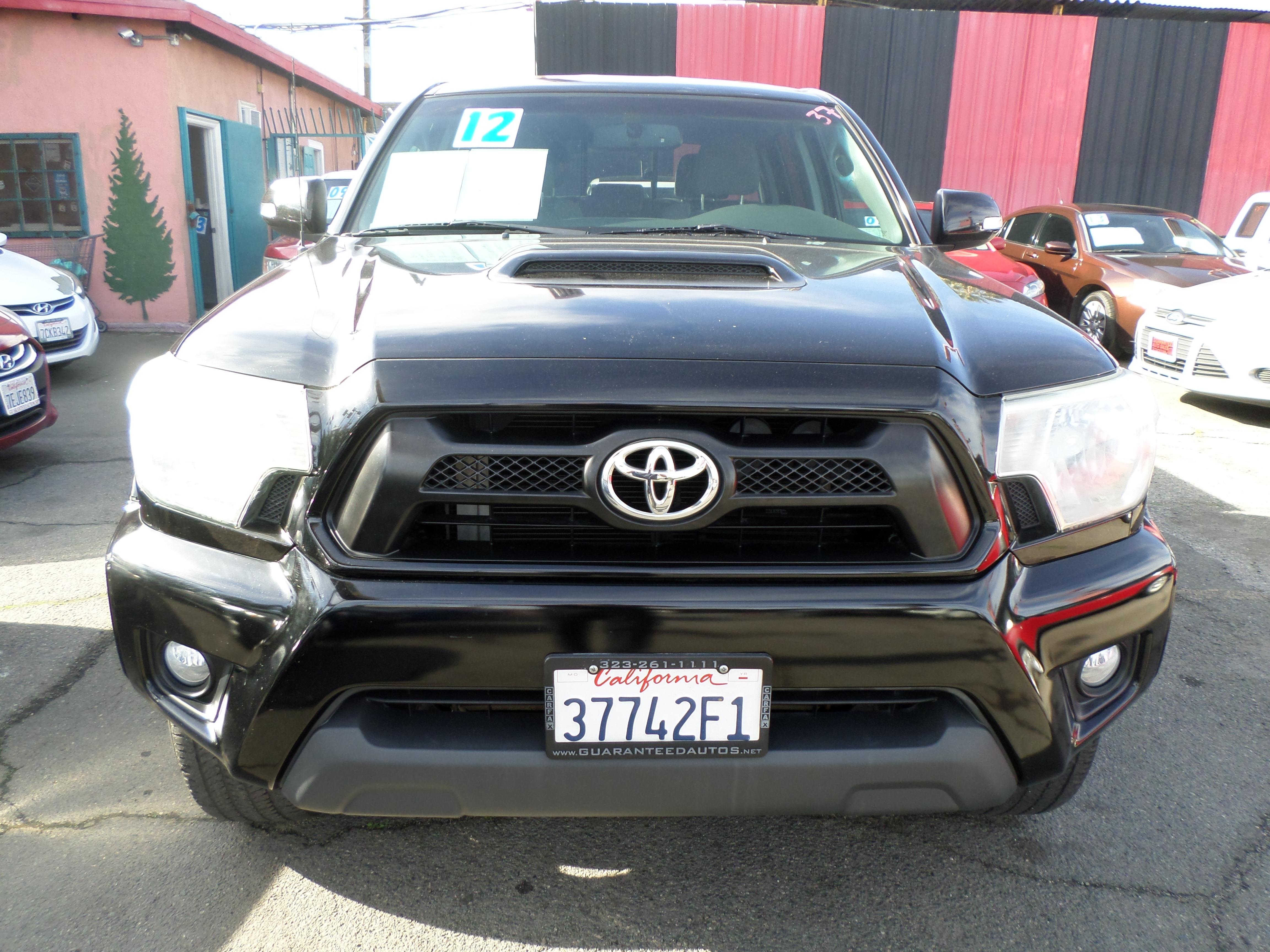 2012 Toyota Tacoma 4WD Double Cab V6 MT