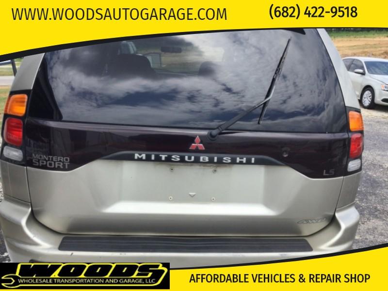 Mitsubishi Montero Sport 2000 price $4,200