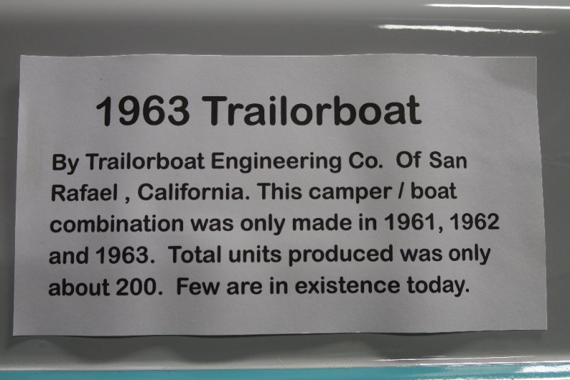 TRAILORBOAT  1963 price Display Only