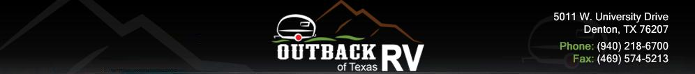 Outback RV of Texas. (940) 218-6700