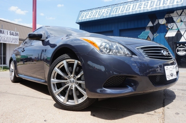 2009 Infiniti G37s Coupe 6-Speed