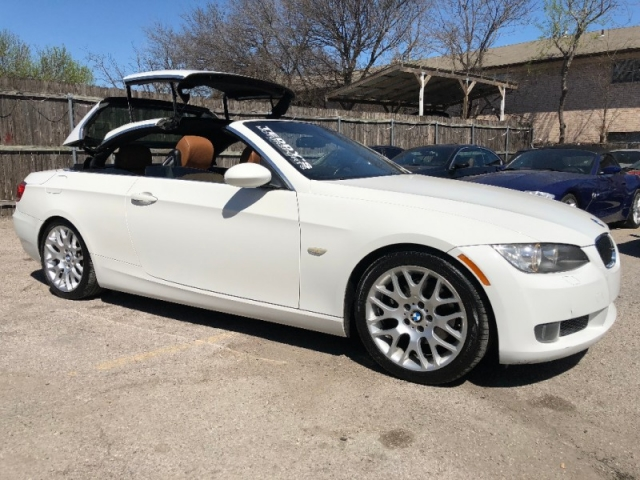 2008 BMW 328I Convertile White Saddle Sport Package