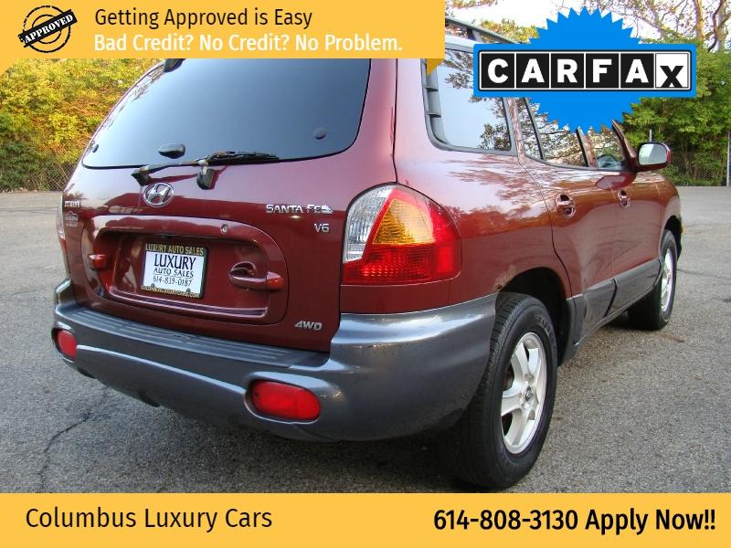 Hyundai Santa Fe 2003 price $3,495