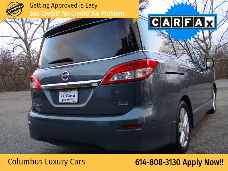 Nissan Quest 2012 price $10,400
