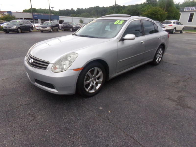 INFINITI G35 2005 price Call for price