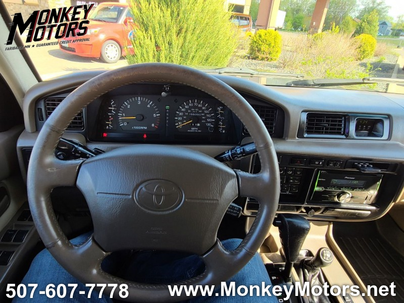 Toyota Land Cruiser 1997 price $9,995