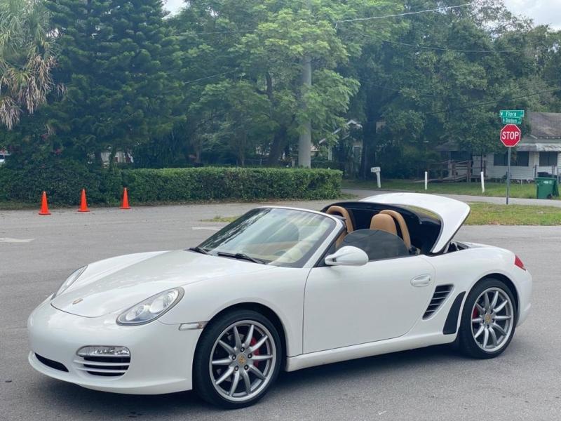 Porsche Boxster 2011 price $25,999